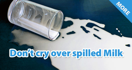 Spilled-milk